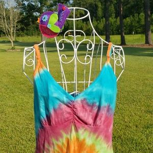 Tie Dye cotton dress or nightie